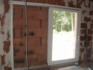 Comment Poser Une Porte A Galandage En Renovation : baie galandage monter une cloison au droit du b ti ~ Melissatoandfro.com Idées de Décoration