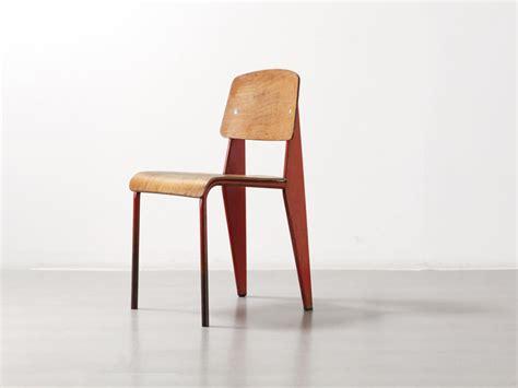 jean prouv chaise histoire de design chaise métropole n 305 jean prouvé 1934