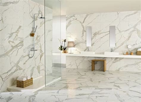 carrara porcelain tile domino carrara glazed porcelain wall and floor tiles