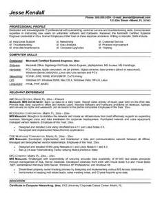 resume format for experienced mis executive exle mis manager resume sle