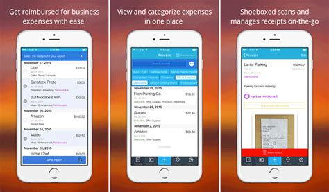 iphone receipt tracking apps    expense