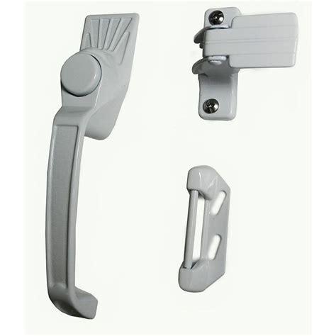 screen door handle barton kramer aluminum white screen door handle set