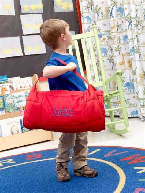 monogrammed nap mat  perfect  preschool  kids    easily rolls
