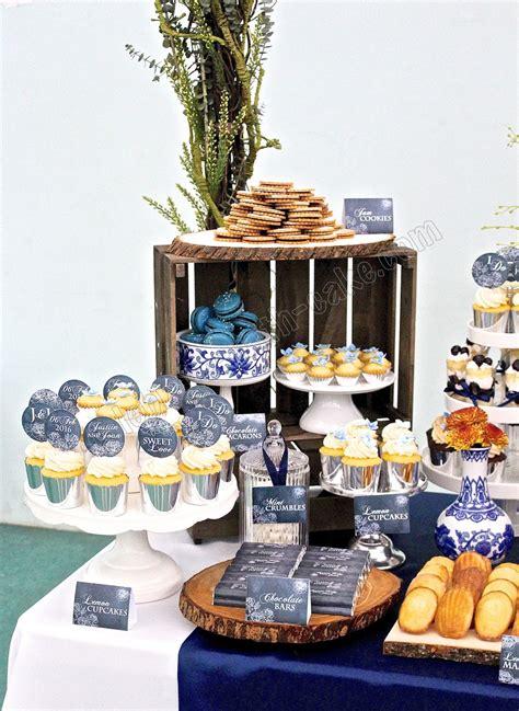 celebrate  cake chinese porcelain themed wedding