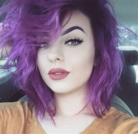 411 Best Purple Hair Images On Pinterest Purple Hair