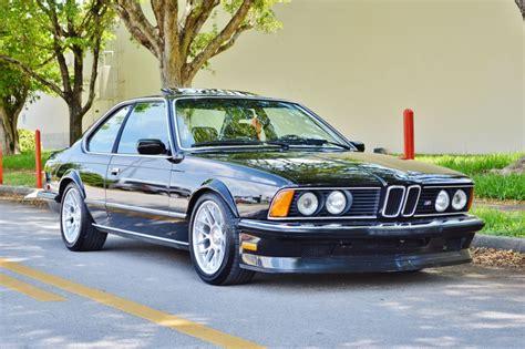 E24 M6 by 1985 Bmw M6 M635csi E24 Real Classic