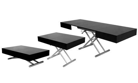 console bureau extensible deco in table basse relevable extensible noir