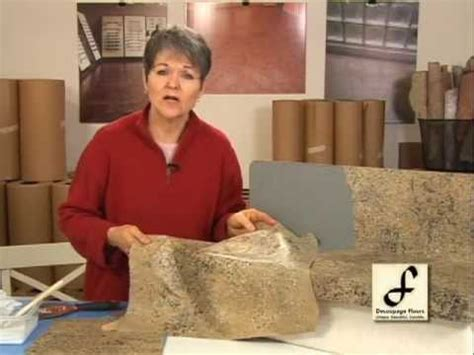 Introduction of my How To Videos for Decoupage Floors