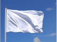Large white Flag 5x8 ft RoyalFlags