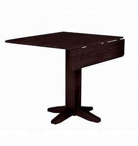 [36 Inch] Square Dropleaf Dining Table - Unlimited