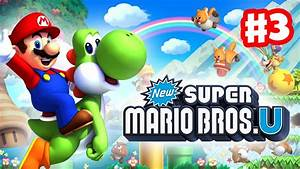 New Super Mario Bros U Walkthrough Part 3 Blooperu002639s