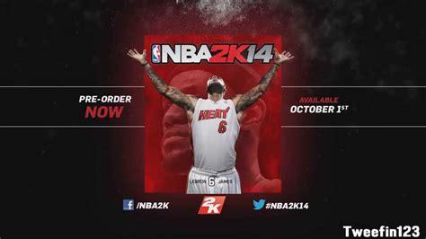 NBA 2K14 - Lebron James Cover Athlete - YouTube