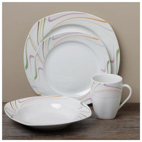White Modern Dinnerware Sets   Thediapercake Home Trend