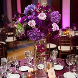 table centerpieces for weddings purple centerpieces flower for wedding table decoration