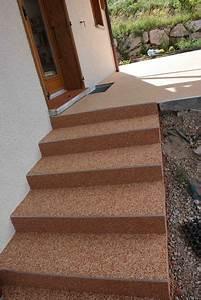 Revetement Escalier Exterieur : rev tement de sol granulat de marbre moquette de ~ Premium-room.com Idées de Décoration