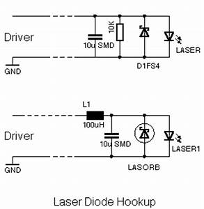 w39s stable low noise ld driver With laser diode circuit