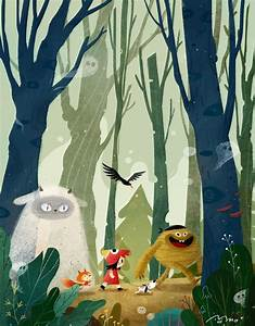 Forest Adventure | illustration in 2019 | Pinterest | 숲 ...