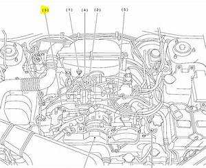 2002 Subaru Outback 2 5l Where Is The Location Of The Temperature Cooling Sensor That Feeds The