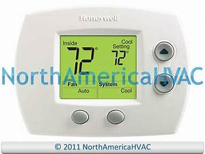 Oem Honeywell Focuspro 5000 Digital Thermostat 1h  1c