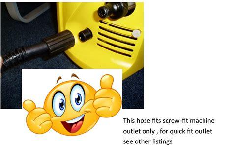 15m manual hose reel on carry frame complete with hose for karcher k directhoses
