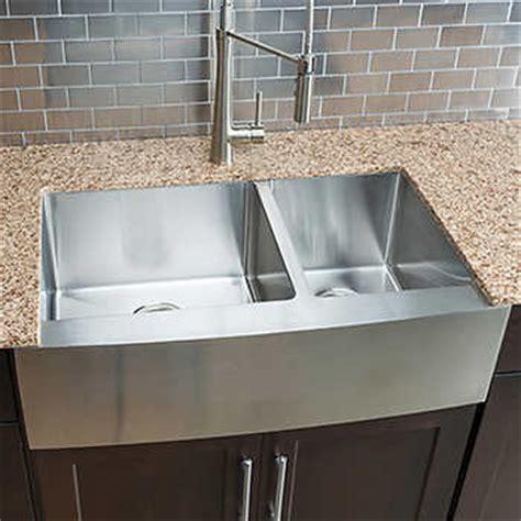 kitchen sink costco hahn chef series handmade large 60 40 bowl 2644