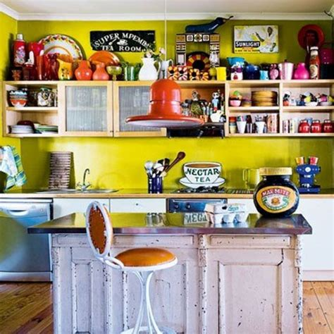 bright colored kitchens 7 tips for decorating the breakfast bar 1798