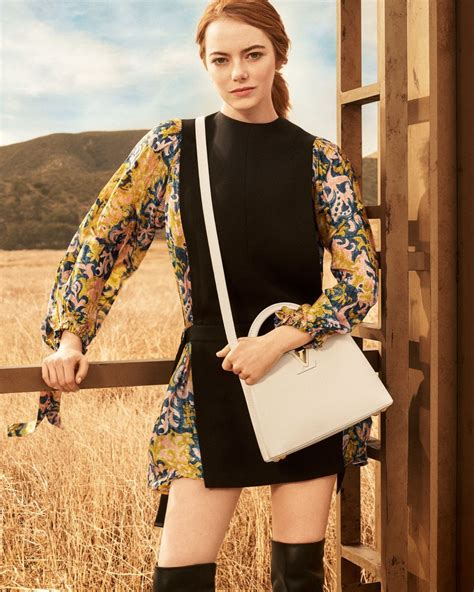Emma Stone Stars In Louis Vuitton's 'spirit Of Travel