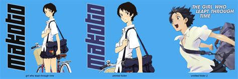 I Made Some Anime Folder Icons Thought Would With You The Who Leapt Through Time By Mistergreen1971 On