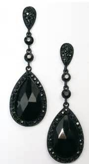 black chandelier earrings with crystals black chandelier earrings tear drop jet black