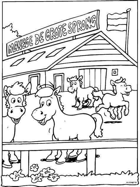 Kleurplaten Shetlanders by Help Paarden Taart Meisje 10 Pagina 1