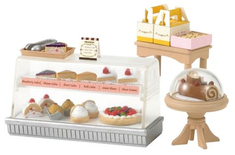 sylvanian families cuisine epoch sylvanian families sylvanian family doll quot cake set