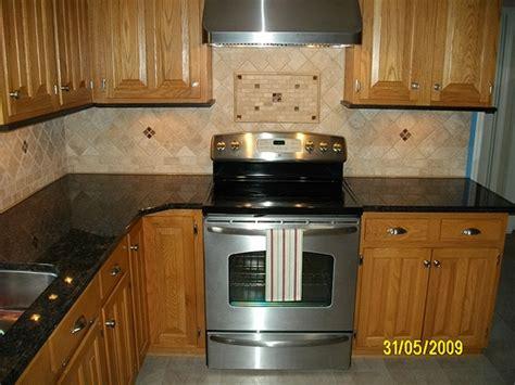 tile backsplash for kitchens with granite countertops kitchen granite with tile backsplash flickr photo
