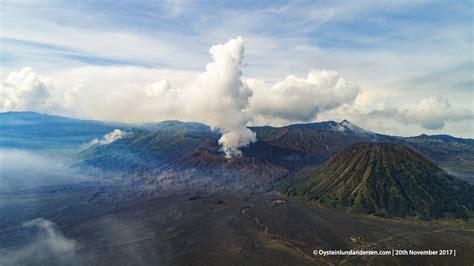 bromo volcano   november  oystein lund