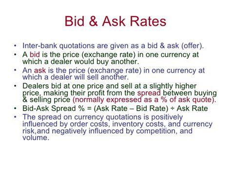bid rate bid ask exchange rates forex app for ios