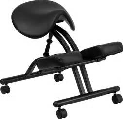 ergonomic kneeling chair with black saddle seat wl 1421 gg by flash furniture bizchair