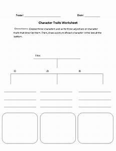 Character Analysis Worksheet High School