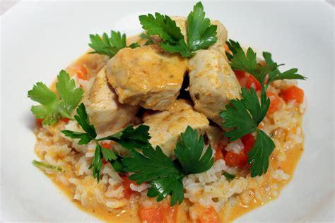 cuisine lait de coco poulet au curry lait de coco riz par alain ducasse
