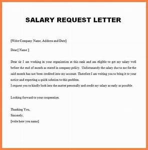 Request salary increase letter 5 request letter for salary increment pdf simple salary slip thecheapjerseys Image collections