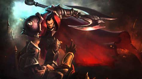 12 Login Theme League Of Legends  Darius, La Mano De