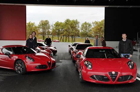 Alfa Romeo 4c First Customer Deliveries Autoevolution