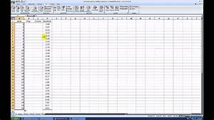 Make A Graph In Excel Creating A Normal Probability Plot With Excel 2007 Youtube