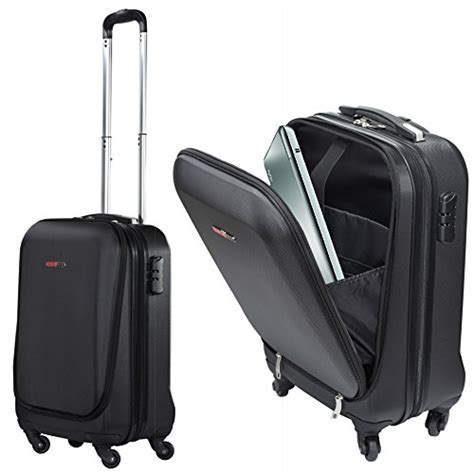 rolling bag reviews swisscase pro business traveller 20 quot abs 4 wheel cabin