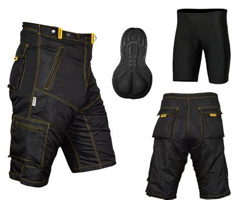Mtb Cycling Shorts,mountain Bike,off Road,cool Max Padded
