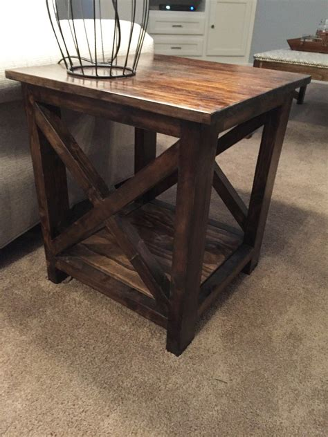 Here's An Idea For Simple End Tables That You Can Make