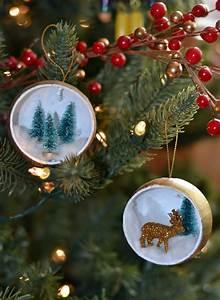 Deer, And, Christmas, Tree, Ornament