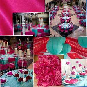 Anybody Doing Fuschia And Turquoise