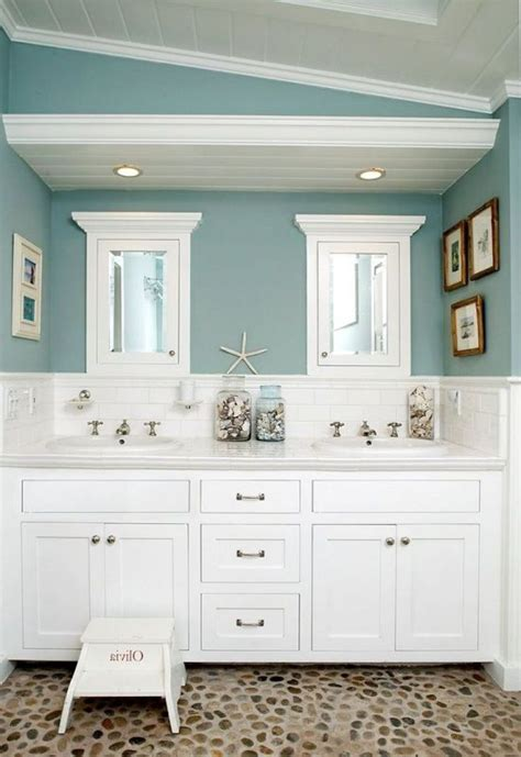 The Popular Beach Themed Bathroom Paint Colors Homedcin