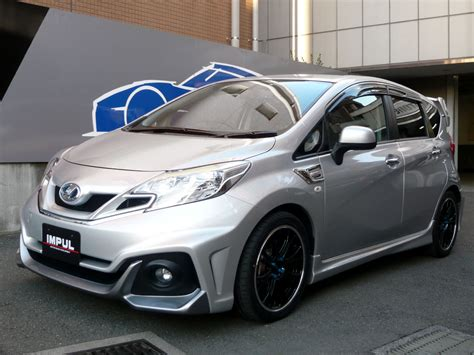 nissan note tuned  impul  japan autoevolution