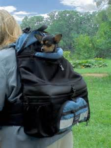 Tough Traveler Double-Decker Comfort Dog Backpack