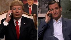 Ted Cruz fields call from Jimmy Fallon's Donald Trump ...